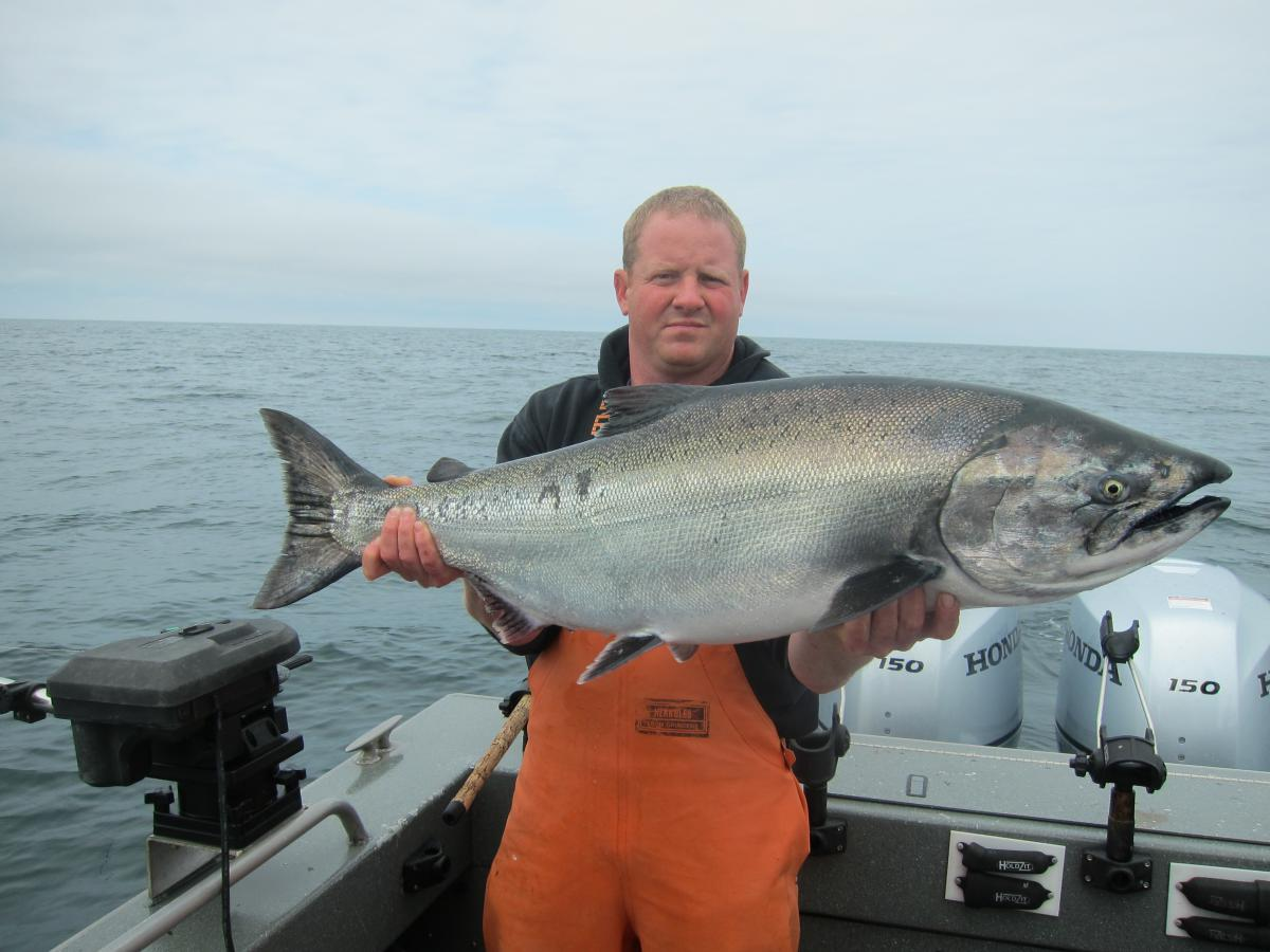 La push todds extreme fishing for Larry king fish oil